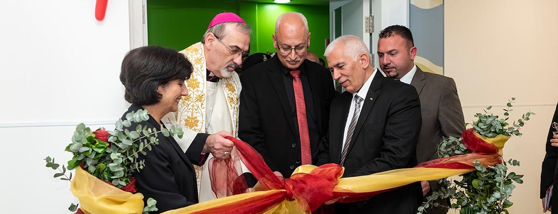 افتتاح وحدة المراقبة الطبية في مستشفى كاريتاس للأطفال