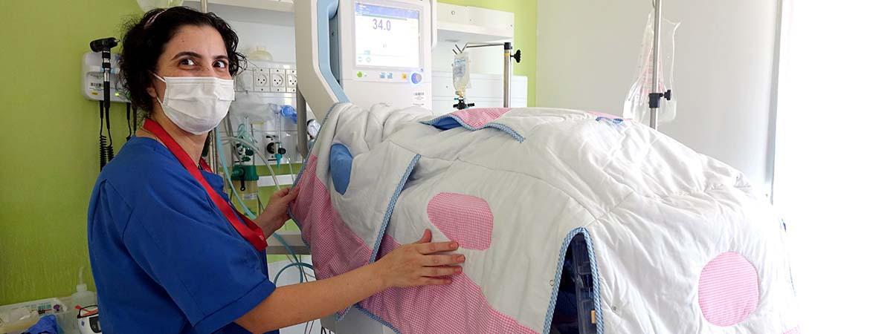 تطوير البيئة الحاضنة في مستشفى كاريتاس للأطفال