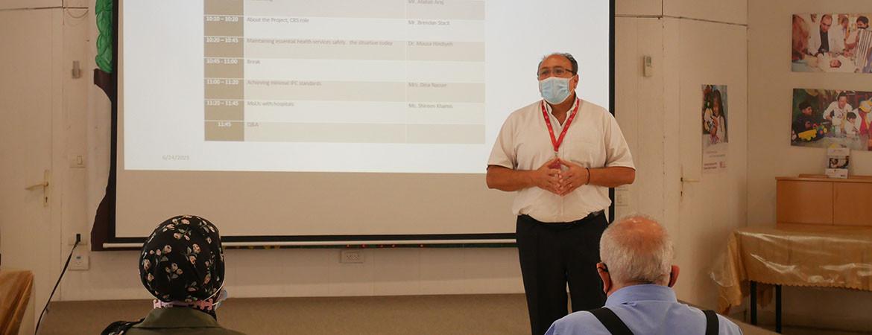 مستشفى كاريتاس للأطفال يطلق مشروع الإستجابة لحالة الطوارئ المتعلقة بجائحة كوفيد-19