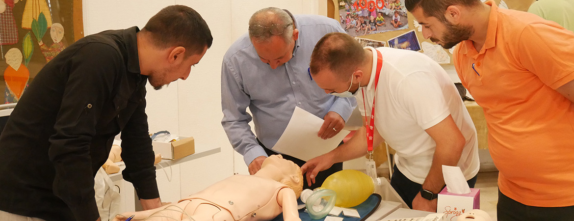 Quality and Patient Safety Department Concludes a PALS Training