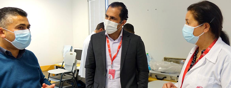 مستشفى كاريتاس للأطفال يباشر حملة التطعيم ضد فيروس كورونا
