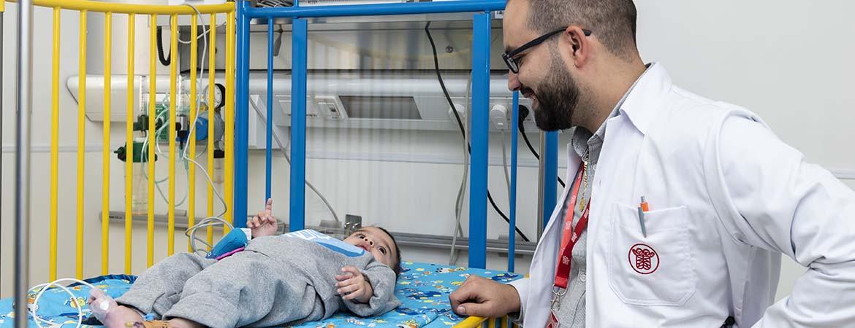 وحدة مراقبة المرضى الأطفال