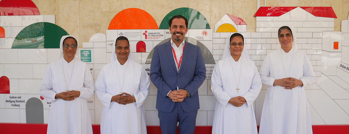 Caritas Baby Hospital Welcomes The Sisters Of Charity