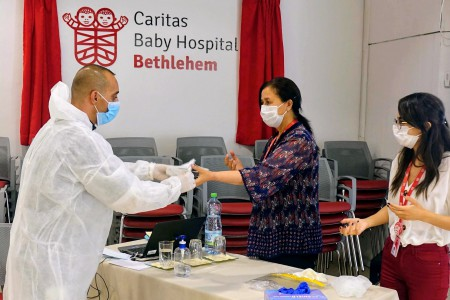 Caritas Baby Hospital Empowers Local Hospitals against COVID-19
